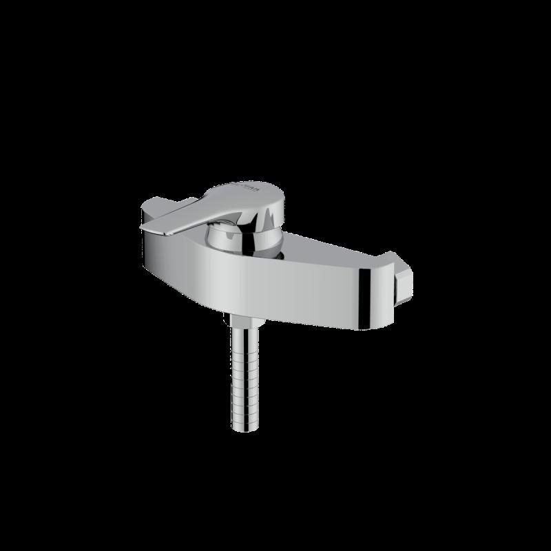 Arsham shiny chrome single lever toilet mixer