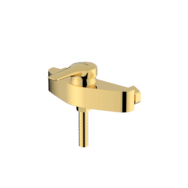 Arsham shiny gold single lever toilet mixer