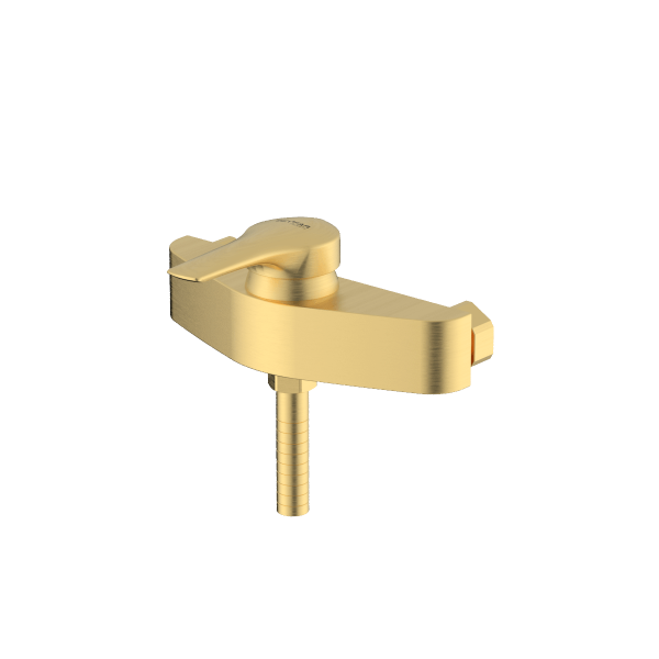 Arsham matte gold single lever toilet mixer