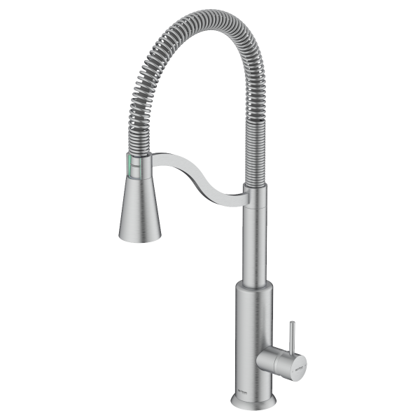 Atra Brushed Chrome Single Lever Kitchen Mixer