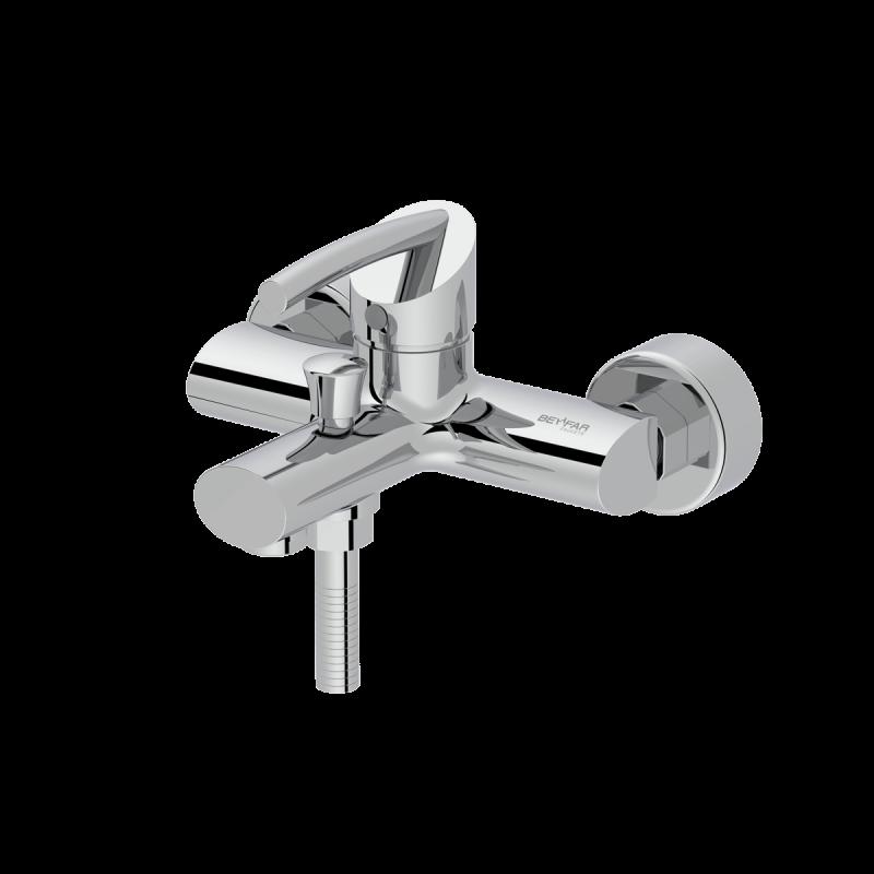 Macan shiny chrome single lever bath mixer