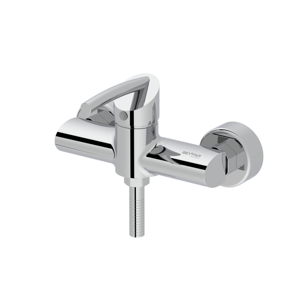 Macan shiny chrome single lever toilet mixer
