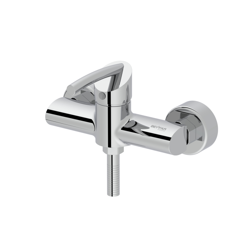 Macan shiny chrome single lever toilet mixer