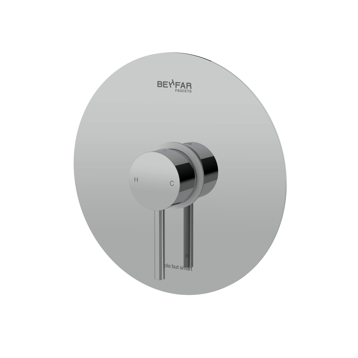 behfar shiny chrome toilet concealed with ibox plate c