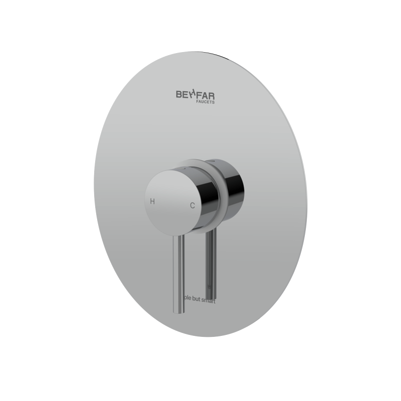 behfar shiny chrome toilet concealed with ibox plate d